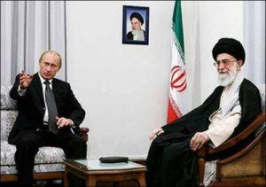 Ali Khamene'i and Vladimir Putin