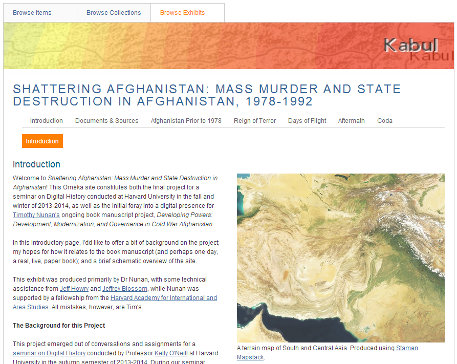 """A screen cap of """"Shattering Afghanistan."""" Check it out and let me know your thoughts!"""